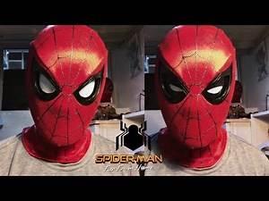 SPIDER-MAN ARTICULATED EYES🔥! | ПОДВИЖНЫЕ ЛИНЗЫ ЧЕЛОВЕКА ПАУКА!
