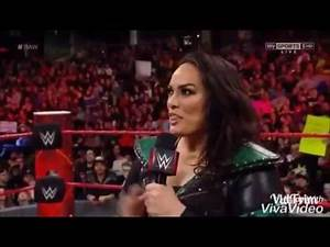 NIA JAX VS LOCAL COMPETITOR (SASHA BANKS ATTACKS) 23.01.17 WWE RAW