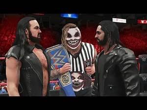 NEVER TRUST THE FIEND WYATT AS GUEST REFEREE! WWE 2K20 Universe Mods