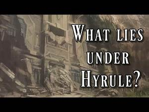 The Forgotten Temple, What lies beneath Hyrule? Theory