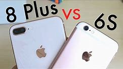 iPHONE 8 PLUS Vs iPHONE 6S On iOS 12! (Speed Comparison) (Review)