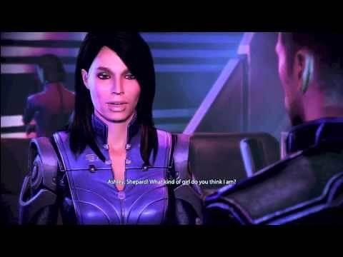 Mass Effect 3 Citadel Ashley Romance (Star Wars Han Solo Easter Egg)