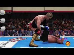 WWE 2K18 6 STAR MATCH!!!!!! Kenny Omega vs Kazuchika Okada For The IWGP US Championship