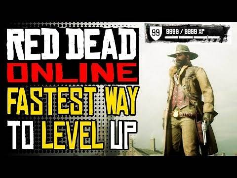 Red Dead Online - FASTEST Way To LEVEL UP Solo| RDR2 Online Infinite XP