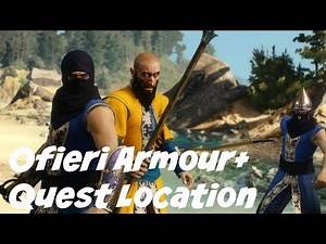The Witcher 3: Heart Of Stone- Ofieri Armour set Quest Location