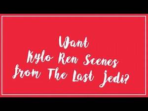 Kylo Ren Scene Pack Giveaway! (The Last Jedi)