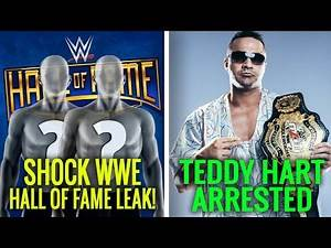 SHOCK WWE Hall Of Fame 2020 Duo LEAKED! Riddle Heat Is REAL! Teddy Hart Arrested! Wrestling News