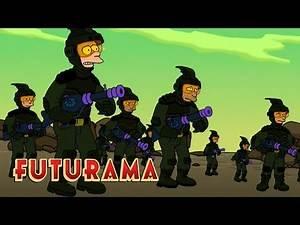 FUTURAMA | Season 3, Episode 2: The War Against Spheron I | SYFY