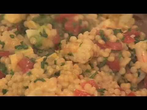 Blu Gourmet Pearl Couscous - Curried Prawn Salad