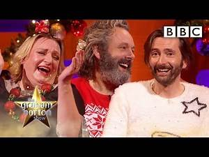 David Tennant, Michael Sheen and Vanessa Kirby on Graham Norton Show (2020)