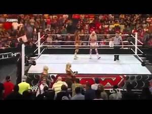 [WWE]Kelly Kelly/Eve vs Divas Champion Beth Phoenix/Natalya.mp4