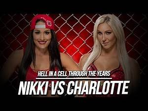 WWE Hell in a Cell 2015: Nikki Bella Vs Charlotte #WWE2K18 #WWEHIAC#WWE