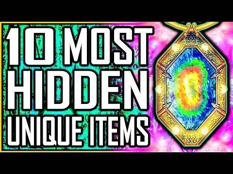OBLIVION - 10 Most HIDDEN Unique Items
