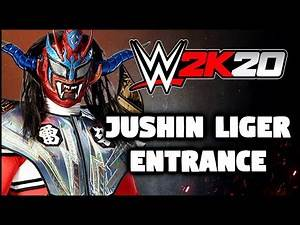 "WWE 2K20 - Jushin ""Tiger"" Liger Entrance - PS4 Community Creations"