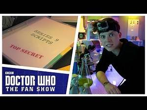 Stealing Series 9 Scripts | Doctor Who: The Fan Show | Doctor Who