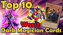 Top 10 Worst Dark Magician Cards in YuGiOh