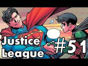 Justice League #51 Review/Recap. Enter Robin.
