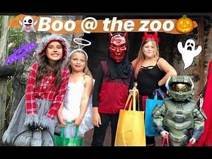 TRICK OR TREATING AT THE ZOO!!!