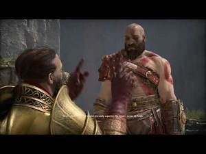 God of War 4 PS4 How Kratos got Leviathan Axe scene