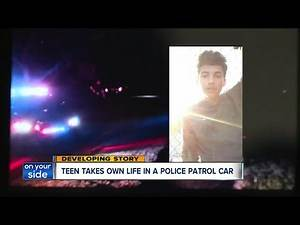 Teen takes own life in an Akron police patrol car