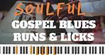 HOW TO PLAY GOSPEL RUNS & LICKS!   Beginner Piano Lesson