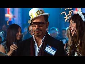 New Year's Eve Party Scene - Tony Stark Meets Yinsen - Iron Man 3 (2013) Movie CLIP HD