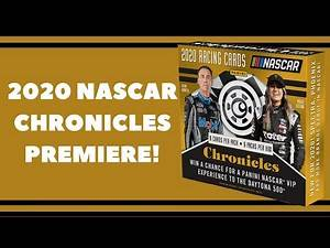 2020 Panini Chronicles Racing Hobby Box!