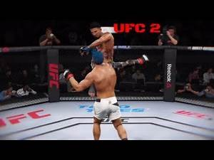 UFC 2 Best Combos And Knockout On Cocky Fighter! Ultimate team!