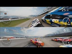 NASCAR Heat 4 - Splitscreen Gameplay (Xbox One X HD) [1080p60FPS]