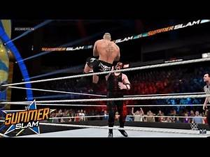 WWE Summerslam 2015 - MASKED KANE RETURNS AND SAVES UNDERTAKER! (WWE2K15)