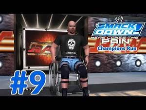 WWE SmackDown! Here Comes the Pain: Season Mode (Raw Champions Run) Part 9