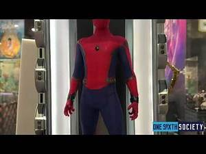 HOT TOYS SPIDERMAN HOMECOMING LIGHT UP BASE