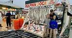 Deep Sea Fishing Port Aransas!! (Dolphin Dock)