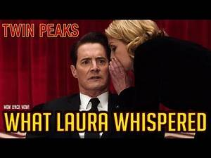 Twin Peaks - The meaning of what Laura whispered