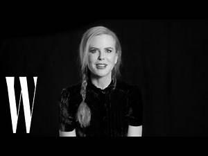 Lynn Hirschberg's Screen Tests: Nicole Kidman - June 2012