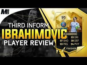 FIFA 16 TIF IBRAHIMOVIC REVIEW (95) FIFA 16 Ultimate Team Player Review + In Game Stats