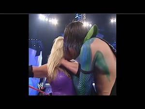 Trish Stratus Saved By Jeff Hardy - 03 17 2003 wwe raw jeff hardy saves trish stratus