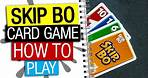Skip Bo Board Game Rules & Instructions | How To Play Skip-Bo | Skip-Bo Card Game Explained