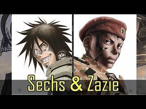 Battle Angel Alita - GUNNM Last Order: Sechs and Zazie (Alita's Wingmen)