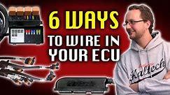 6 Ways to Wire In Your ECU - Haltech Technically Speaking
