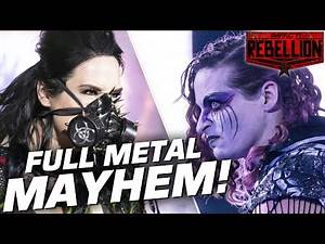 Rosemary & Havok Battle in FULL METAL MAYHEM! | IMPACT! Rebellion Highlights Apr 28, 2020