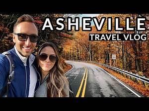 ASHEVILLE TRAVEL VLOG - THE BILTMORE & BLUE RIDGE PARKWAY: Travel Vlog #1