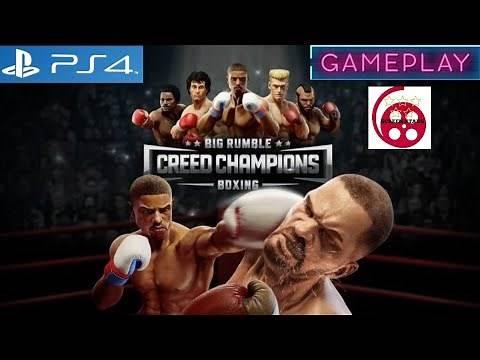 Big Rumble Boxing Creed Champions: PS4 Gameplay