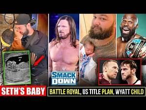 Seth & Becky First Baby Photo Reveal, Punk/Bryan REUNION, Battle Royal Match, AJ Styles, WWE Hacker