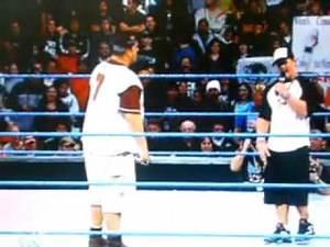 John Cena and Big Show rap battle