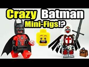 Awesome Batman LEGO Custom Minifigures 2017