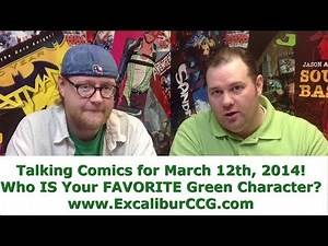 Talking Comics for 03.12.14 - Avengers Undercover #1, Captain Marvel #1, Secret Avengers #1 & More!