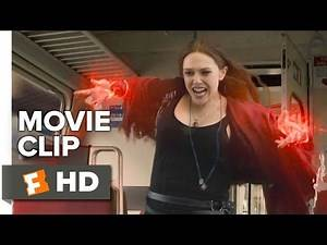 Avengers: Age of Ultron Movie CLIP - Stopping the Train (2015) - Chris Evans Movie HD