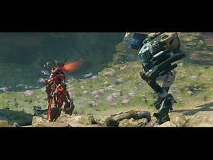 Halo 5: Mantis Hannibal Vs Warden!