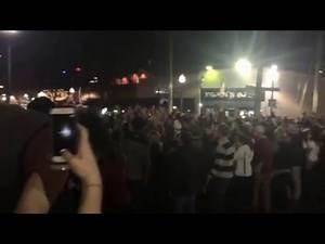 Alabama fans celebrate on the Strip after National Championship